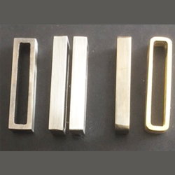 Solid brass metal belt loops