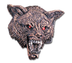 Alchemy belt buckle B14 WOLF HEAD
