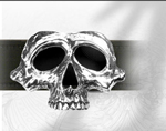 Alchemy belt buckle B65 Lamentian Skull