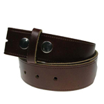 Devanet Alchemy brown leather belt