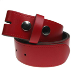 Devanet alchemy red leather belt