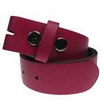 Devanet Alchemy burgundy leather belt