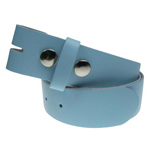 Devanet alchemy babny blue leather belt