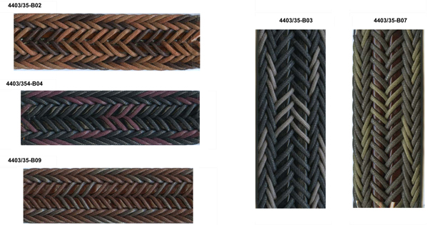 Series 4403 Braided belt material