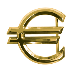 Gold Euro Buckle