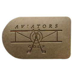 Solid brass milled buckle design
