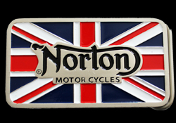 Custom Made buckle for Norton