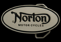Custom Made Oval Buckle For Norton