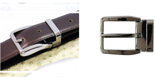 DV11635-35 Nickel plated betl buckle with keeper