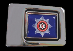 Fire and Rescue Custom Buckle