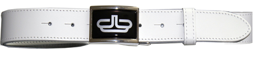 Devanet Full colour insert buckle and leather belt