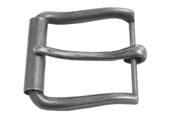 Roller Buckle Antique Silver
