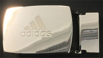 Adidas Team GB golf buckle