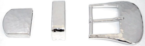 DV3327-3349-3350-40 mm  925 sterling silver buckle set