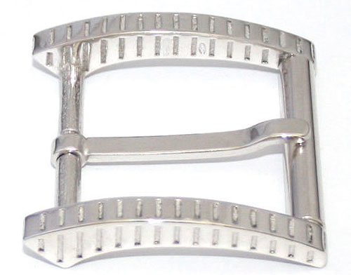 DVA3334-35 mm 925 sterling silver belt buckle