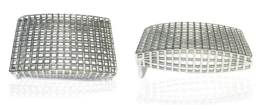 DVAG001-30 3D  925 Sterling silver belt buckle