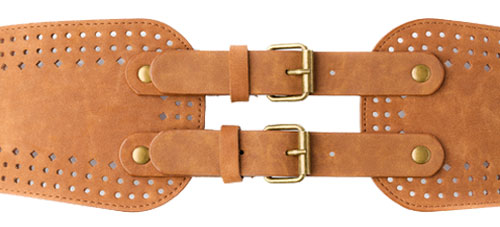 Ladies Suede fashon belt