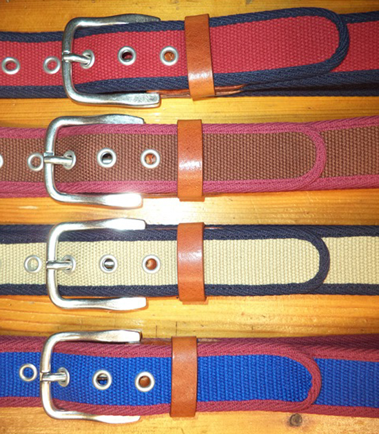 Devanet Web Belts | Military Belts | Bespoke Web Belts