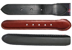 Devanet Leather end tabs