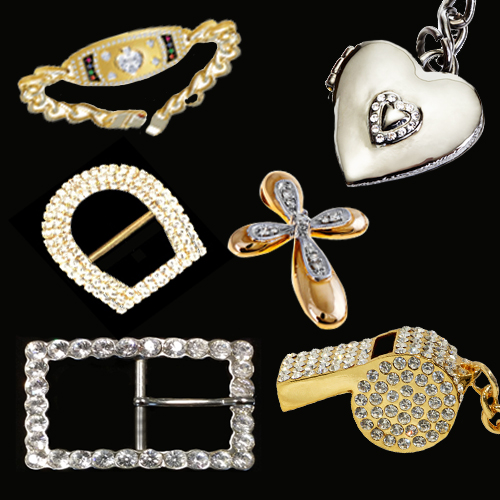 Crystal buckles and gifts