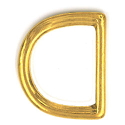 Solid Brass D ring