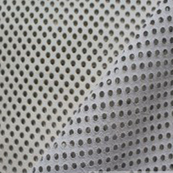 Perforated leather hides