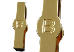 Letter B custom made keeper