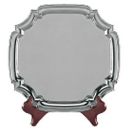 Salver blank with insert