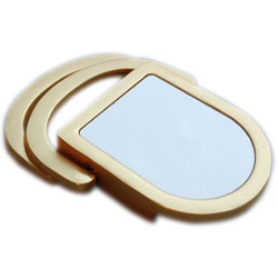 Z11966 Double D ring Gold Buckle