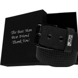 Best Man belts