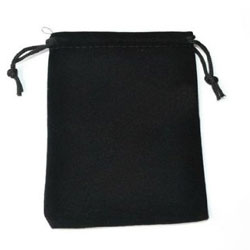 Devanet Custom Made Black Pouchette