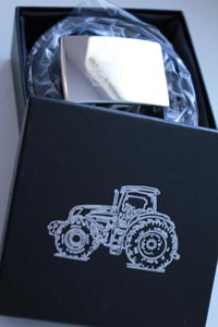 Devanet belts engrved tractor buckle and gift box
