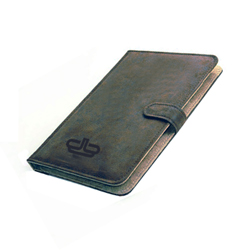 Sueded leather gift pad